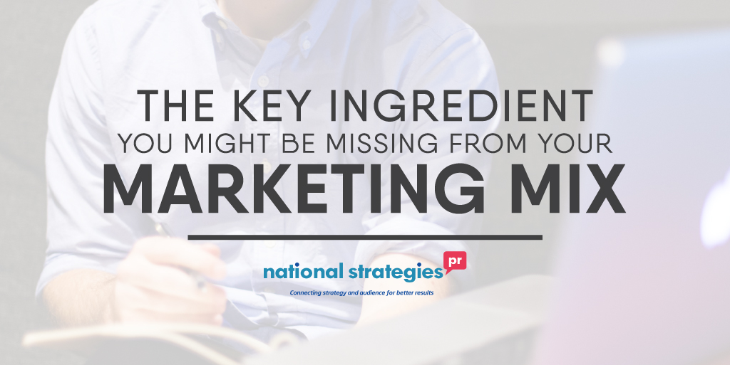 The Key Ingredient You Might Be Missing From Your Marketing Mix
