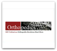Florida Orthopaedic Institute's Physician Featured in Orthopedic This Week 9/8/17