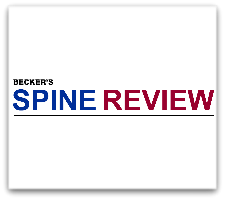 Florida Orthopaedic Institute's Physician Recognized By Becker's Spine Review 8/31/17
